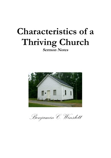 Characteristics of a Thriving Church