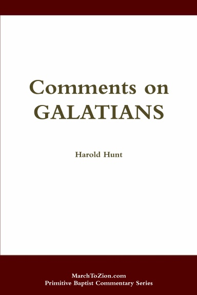 Comments on Galatians