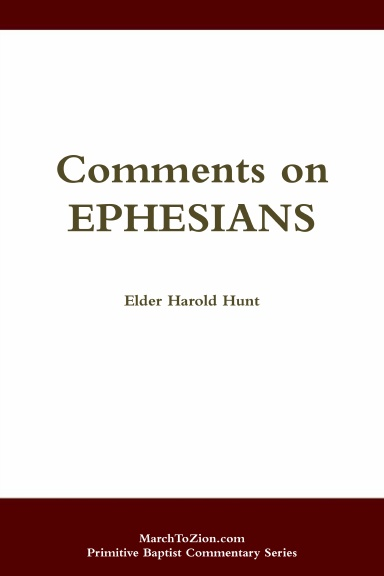 Comments on Ephesians