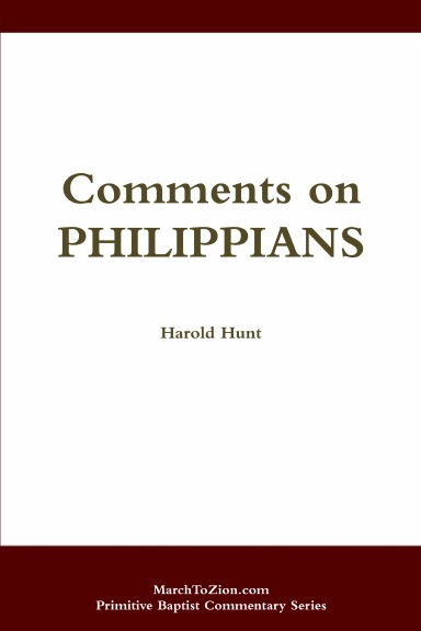 Comments on Philippians