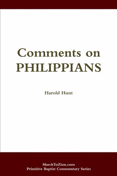 Comments on Philippians